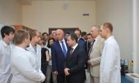 Михаил Бабич и Николай Меркушкин посетили НИИ им. академика С.П. Королева