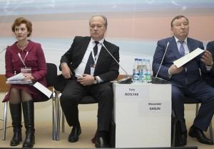 Александр Карлин обсудил тему межбюджетных отношений на Гайдаровском форуме