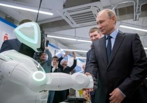 Президент России Владимир Путин встретился в Перми с представителями IT-отрасли
