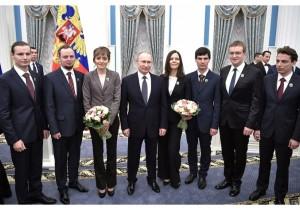 Владимир Путин вручил премии Президента в области науки и инноваций для молодых ученых