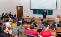 В рамках Всероссийской олимпиады ведущие эксперты в области предпринимательства провели открытую лекцию в КАИ