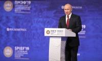 ПМЭФ`2019: Президент России Владимир Путин выступил на пленарном заседании Петербургского международного экономического форума