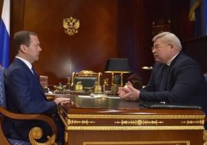 Сергей Жвачкин и Дмитрий Медведев обсудили реализацию проекта «ИНО Томск»