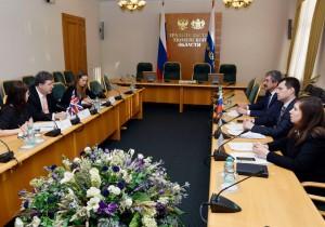 Тюменская область и Великобритания намечают сферы выгодного сотрудничества