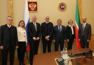 Рустам Минниханов и президент компании «Хальдор Топсе» обсудили вопросы сотрудничества в нефтегазохимической сфере