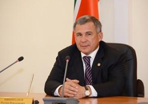 Рустам Минниханов встретился с генеральным директором АО «Корпорация «МСП» Александром Браверманом