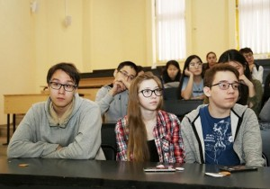 В Северо-Восточном федеральном университете в рамках подготовки к олимпиаде «Технологическое предпринимательство» прошла открытая лекция