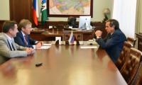 Владимир Городецкий обсудил вопросы развития новосибирского бизнеса с уполномоченным по правам предпринимателей