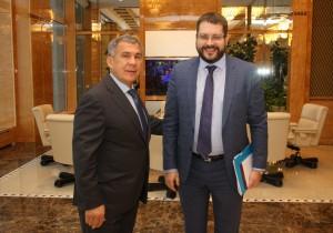 Рустам Минниханов встретился с директором АИРР Иваном Федотовым